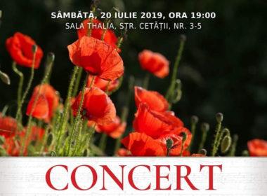 Concert Vocal – Simfonic de muzică sacră la Sala Thalia