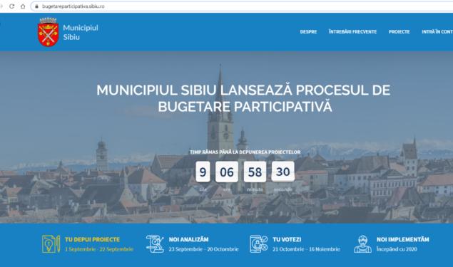 Ai un proiect pentru Sibiu? Primăria finanțează proiectul TĂU pentru oraș